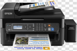 Colored Printer PNG Transparent Picture