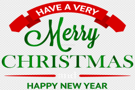 Christmas New Year PNG File