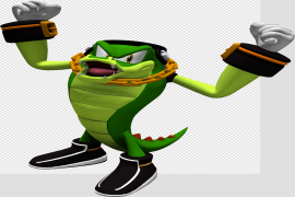 Vector The Crocodile PNG File