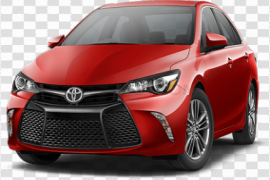 Red Toyota Camry PNG Clipart