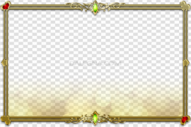 Gold Frame PNG Clipart