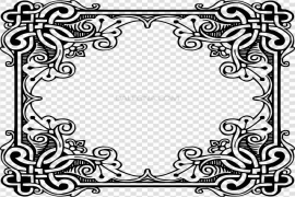 Pattern Border PNG Picture