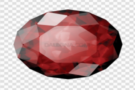 Red Ruby Gemstone PNG Clipart
