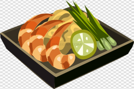Food Plate Vector Clipart PNG