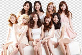 Group Girls Generation PNG File
