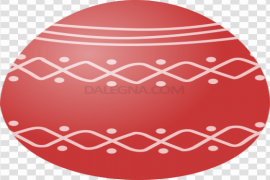 Red Easter Egg PNG Free Download