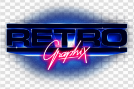 Synthwave PNG Transparent Photo