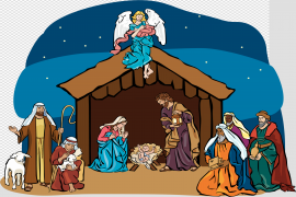 Christmas Nativity PNG Transparent Picture