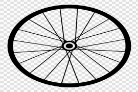 Bicycle Wheel Transparent Background
