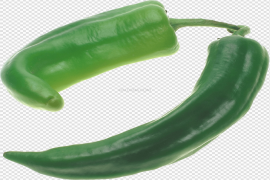Green And Red Chilli PNG Photos