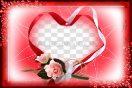 Heart Frame PNG Free Download