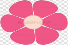 Single Flowers Vector PNG