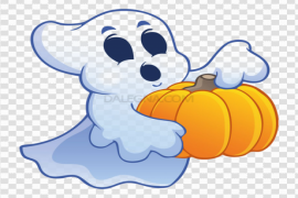 Halloween Ghost PNG Image