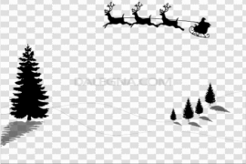 Christmas Minimalist PNG Clipart