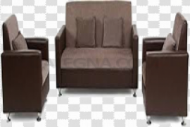 Five Seater Sofa PNG Clipart
