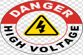 High Voltage Sign PNG Photo