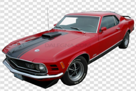 Red Ford Mustang PNG Photos