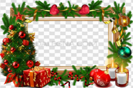 Christmas Frame PNG Free Download