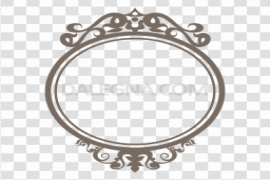 Round Frame PNG Clipart