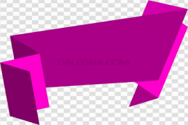 Vector Text Banner PNG Transparent Picture