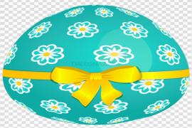 Colorful Easter Egg PNG Image