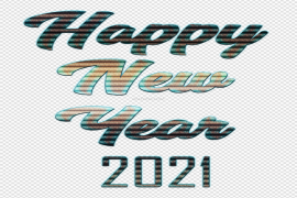 Happy New Year 2021 PNG Pic