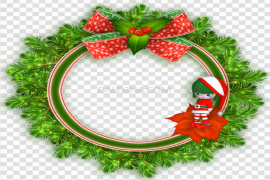 Garland Round PNG Pic