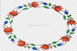 Garland Round PNG Clipart