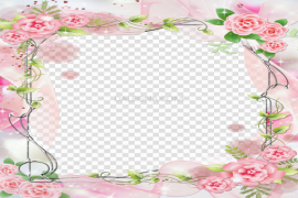 Romantic Frame PNG Image