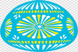 Blue Easter Egg PNG Picture