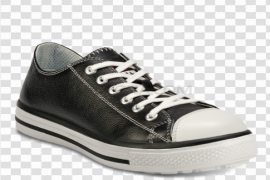 Black Converse Shoes PNG Free Download