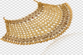 Choker Necklace PNG File