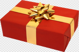 Christmas Present PNG Transparent Picture
