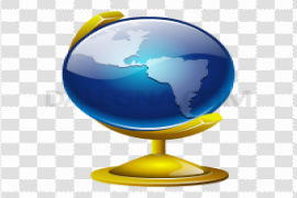 Geography Transparent Background