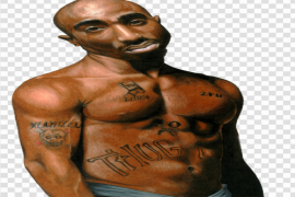 2Pac PNG Transparent Picture