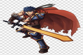 Ike Super Smash Brothers PNG Transparent Picture