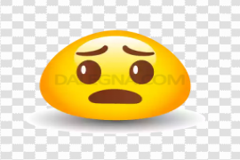 Cute Isolated Emoji PNG Transparent Picture