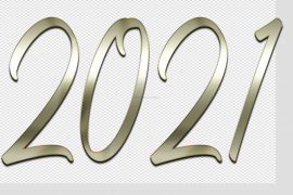2021 Year PNG Transparent Image