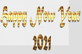 Happy New Year 2021 PNG Photos