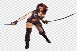 Woman Warrior PNG HD
