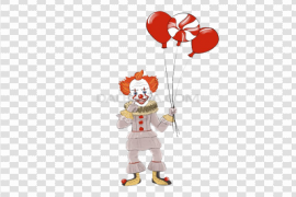 Pennywise Balloon PNG Photo