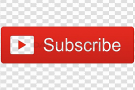 YouTube Subscribe Button PNG Transparent Image