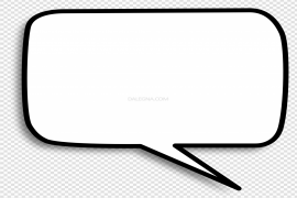 Chat Bubble PNG Pic