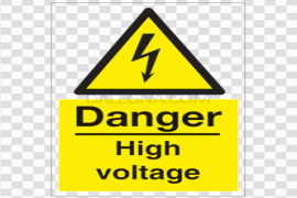 High Voltage Sign PNG Photos