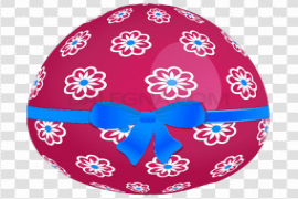 Colorful Easter Egg PNG Free Download