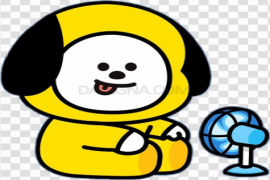 BT21 Character PNG File