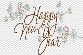 Happy New Year PNG File