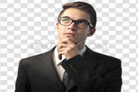 Young Businessman PNG