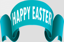 Easter Banner PNG Clipart