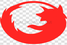 Red Firefox Browser Transparent PNG
